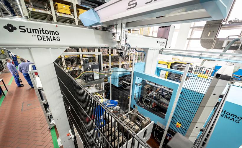 Sumitomo (SHI) Demag и BASF разрабатывают новую производственную ячейку для литья под давлением высокоэффективных полимеров