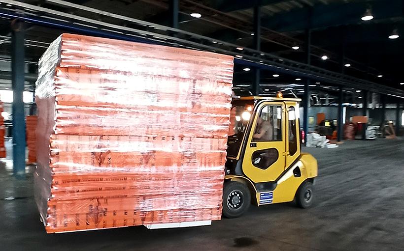 Производственные мощности нового завода «ПЕНОПЛЭКС» в Красноярском крае позволяют выпускать более 500 тыс. м3 теплоизоляционных плит в год