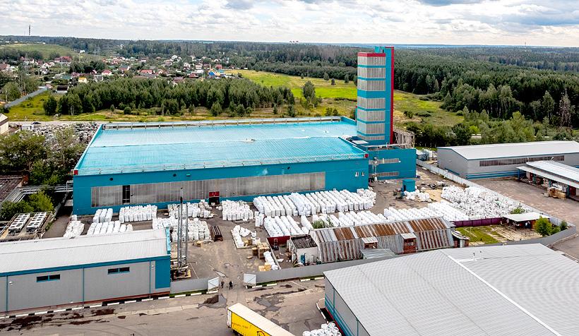 Завод по переработке пластмасс «Пларус» (ОП «Европласт») мощностью 10 тыс. т вторичного гранулята ПЭТФ в год, Солнечногорск Московской обл.