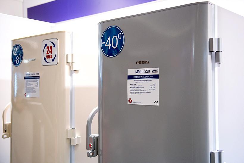 Медицинская холодильная техника производимая заводом ПОЗиС (POZIS)