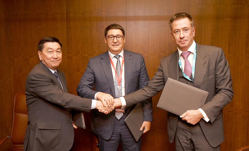 СИБУР, Фонд национального благосостояния Казахстана «Самрук-Казына» и компания «КазМунайГаз» подписали основные условия возможного сотрудничества в сфере нефтегазохимии в Казахстане