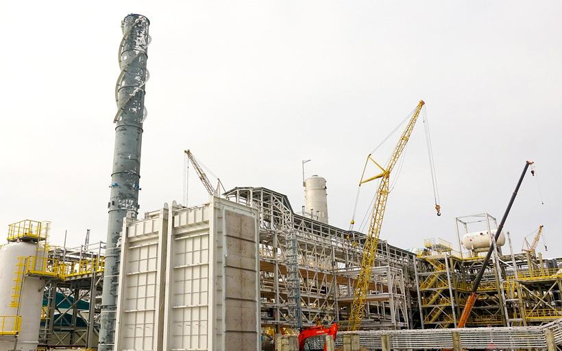 СИБУР Холдинг на 95% завершил монтаж технологического оборудования первого производства МАН в России мощностью 45 тыс. т в год