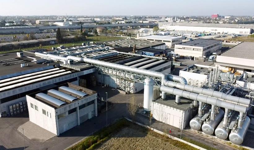 Завод Sidac в Италии по производству гибкой упаковки для продуктов питания, напитков и кондитерских изделий