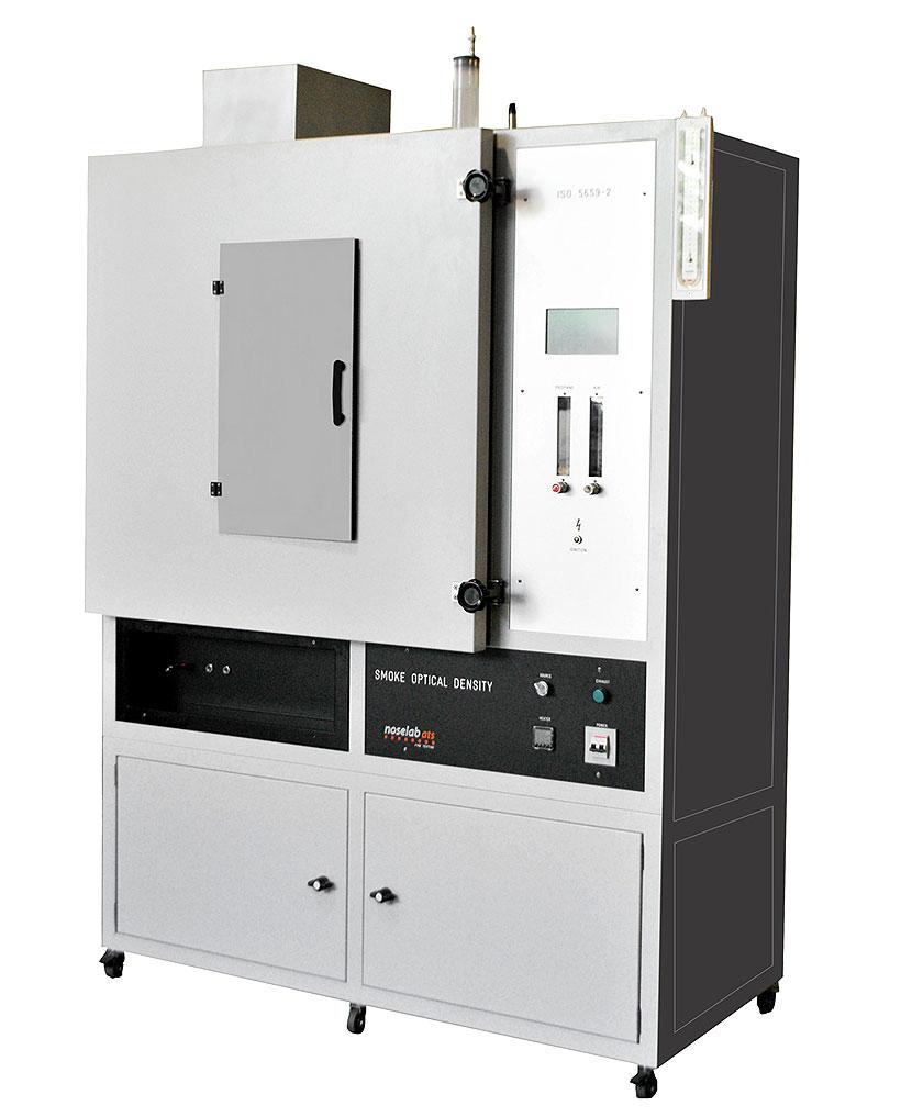 Лабораторное оборудования для определения оптической плотности полимерных материалов