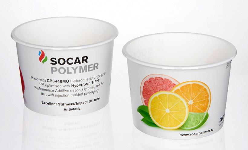 SOCAR Polymer запустил в производство две новые марки блок-сополимера полипропилена для производства жесткой упаковки методом тонкостенного литья пластмасс под давлением