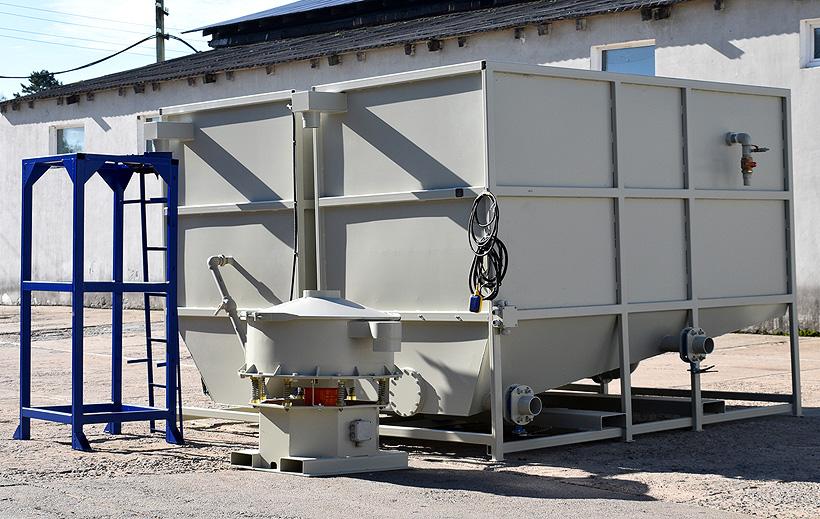 Система очистки воды СТАНКО Стандарт производства «СтанкоПЭТ», поставленная украинскому заказчику