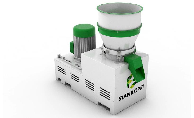 Пласткомпактор «СтанкоПЭТ» поставленный в Казахстан для вторичных пластмасс