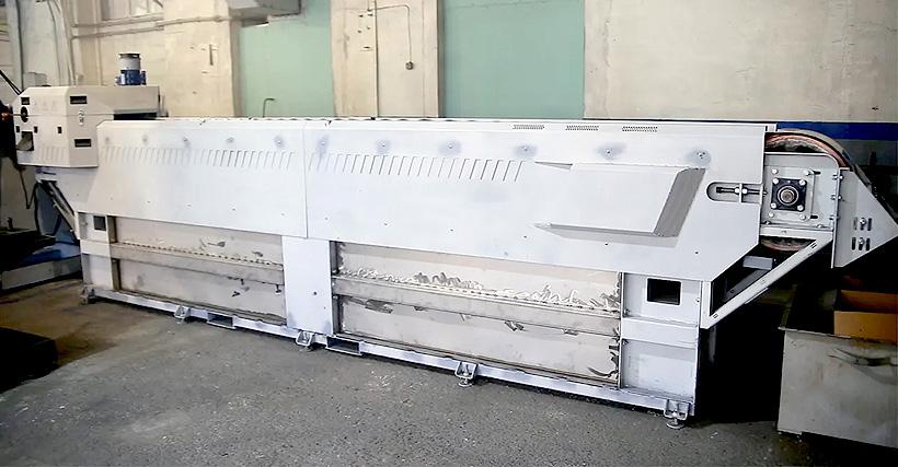 Ленточный гранулятор линии «СтанкоПЭТ» нового поколения марки СТАНКО ЛГВ-120 для полимерных восков