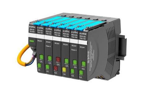 Электронная схема защиты от перегрузки является частью системы контроля управляющего напряжения 24 В на термопластавтоматах Sumitomo (SHI) Demag