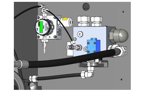 Специальные измерительные датчики используются для декодирования параметров масла в гидравлических термопластавтоматах Sumitomo (SHI) Demag, чтобы гарантировать их качество