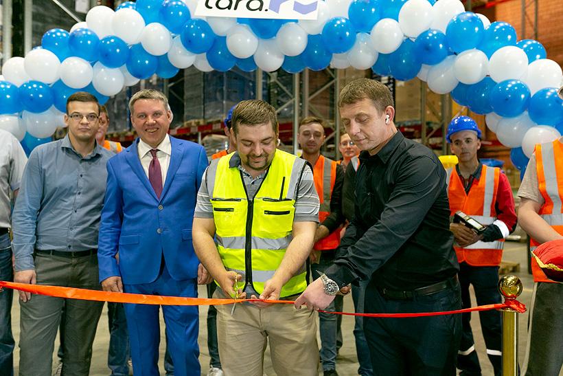 Компания «Тара.ру» открывает новый складской комплекс в городе Санкт-Петербурге площадью 9 тыс. м2