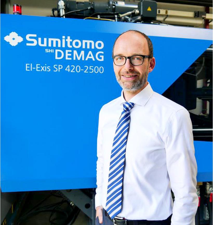 д-р Торстен Тюмен (Thorsten Thumen), cтарший технический директор Sumitomo (SHI) Demag Plastics Machinery