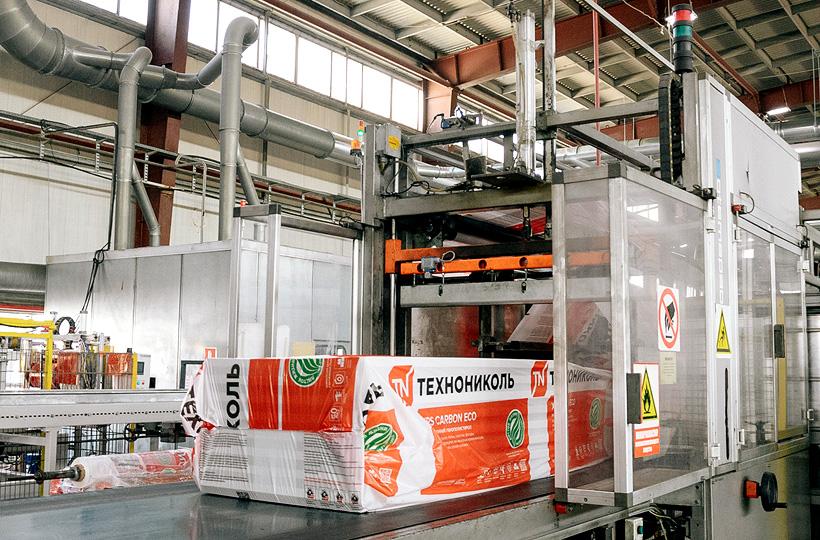Линия по производству теплоизоляционных плит из полистирола на «Заводе ТехноНИКОЛЬ-Ульяновск»
