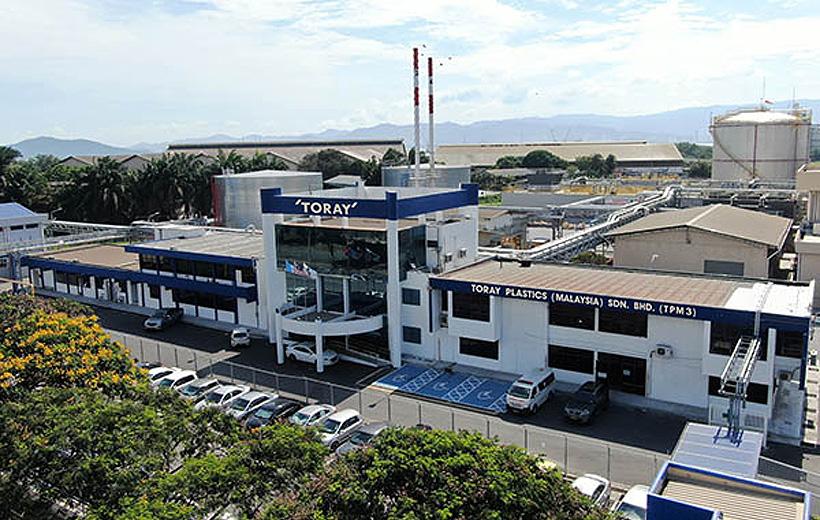 Завод по выпуску АБС-пластика TORAY в Малайзии