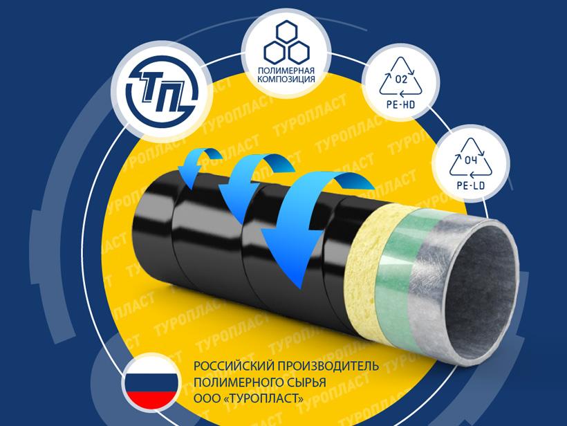 «Туропласт» выпускает полимерные композиции под маркой Туролен на основе полиэтилена для кабельной и трубной промышленности