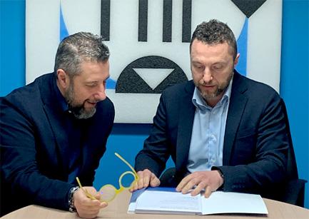 Братья Фабрицио (слева), управляющий директор  и Франческо Поли (справа), коммерческий директор,  2021 год