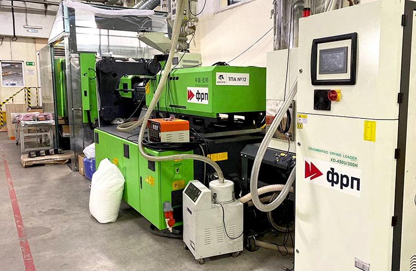 Новый участок для литья пластмасс НПП «Юникорн» позволяет выпускать до  8,5 млн изделий в год