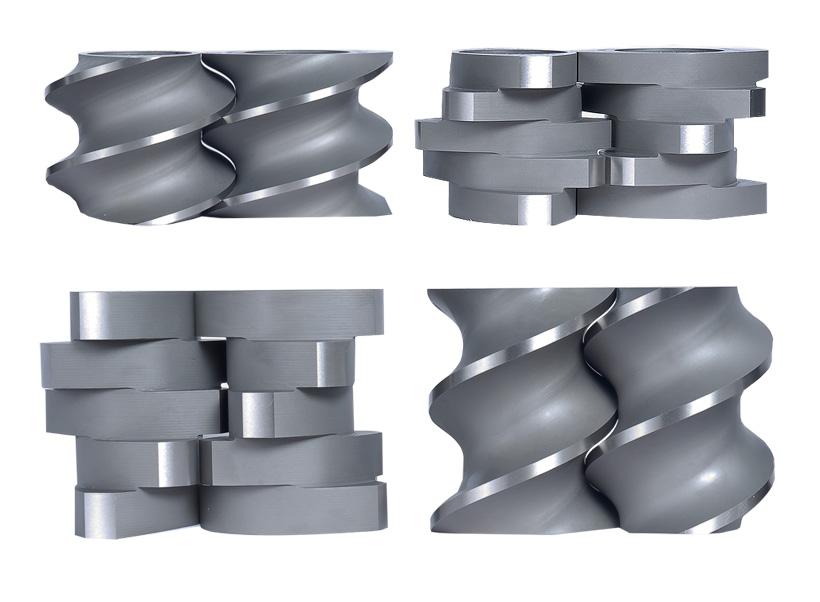Шнековые элементы для экструдеров термопластов производства STEER Engineering