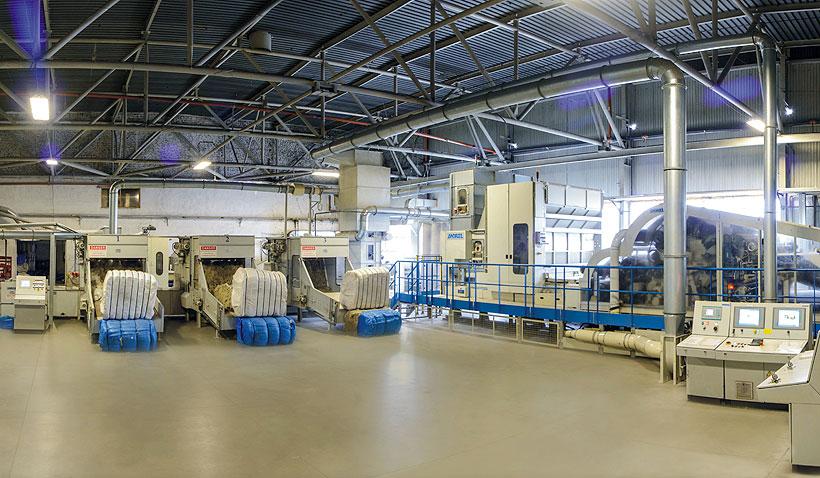 Новый комплекс по производству синтетических волокон из вторичных ПЭТ-бутылок позволит увеличить мощности «Втор-Ком» до 24 тыс. тонн в год