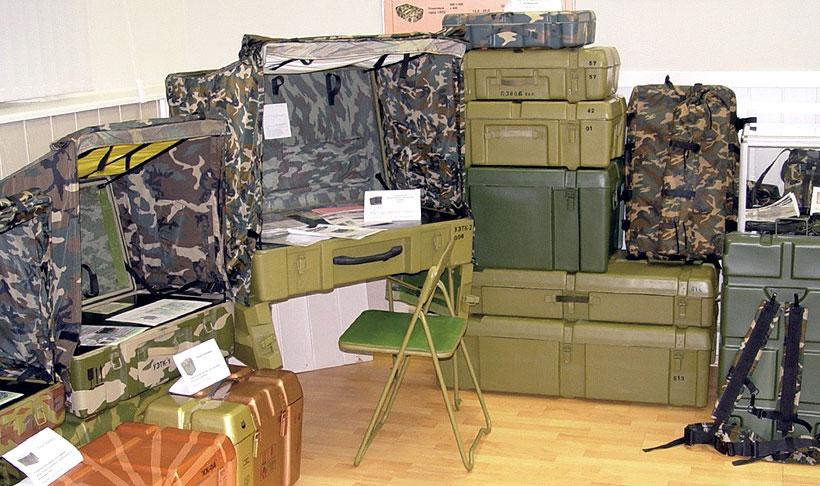Упаковки и ящики ЦНИИточмаш входят в состав комплексов, принятых на вооружение и поставляемых свыше 30 предприятиям ОПК РФ и в более чем в 20 стран мира