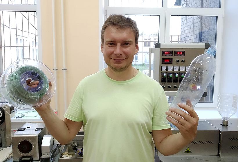 Руководитель лаборатории инновационных термопластичных материалов ЯГТУ Валерий Власов