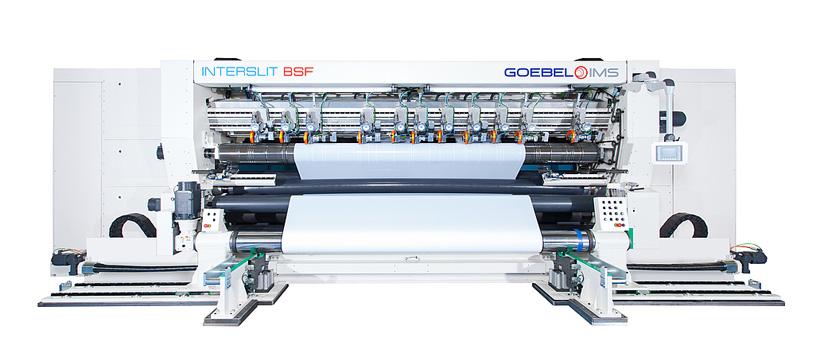 GOEBEL IMS разработала современное устройство для разматывания и резки INTERSLIT BSF