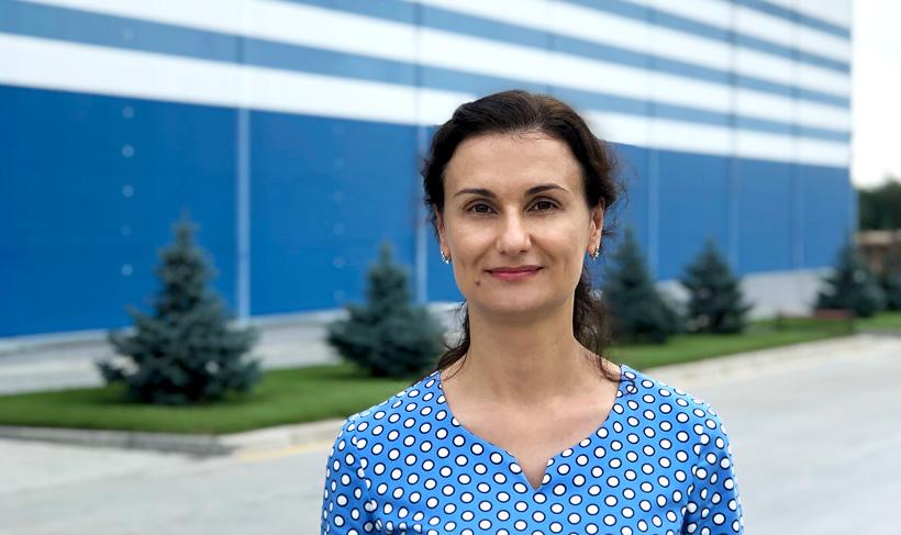 Генеральный директор Приморского «Европласта» Ирина Ракоед