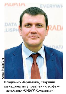 Владимир Чернаткин, старший менеджер по управлению эффективностью «СИБУР Холдинга»