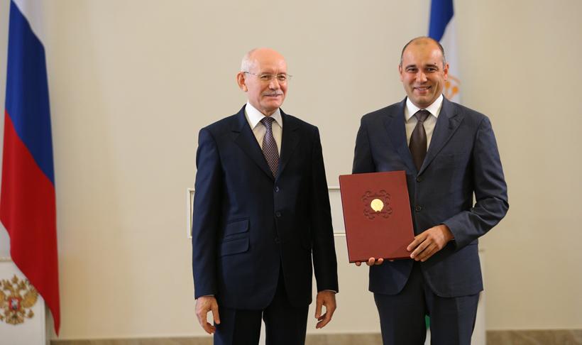 Генеральный директор «Газпром нефтехим Салавата» получил государственную награду