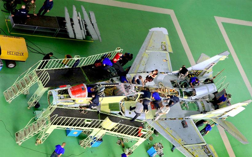 Доля композитных материалов в самолете МиГ-35 выросла до 25%