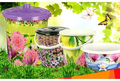 Пластмассовые изделия для чистоты уюта и комфорта