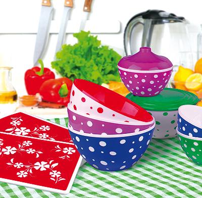 Пластмассовые изделия для кухни