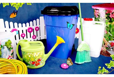 Пластмассовые изделия для сада и огорода