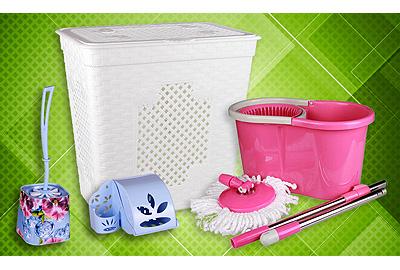 Пластмассовые изделия для ванной и туалетной комнаты