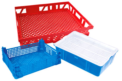 Полимерные ящики ДПО Пластик