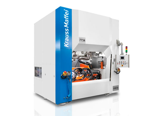 KraussMaffei injection molding machines