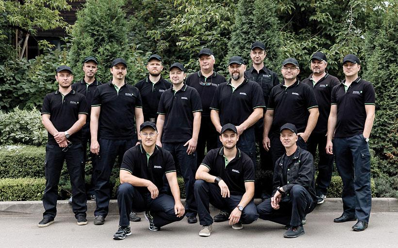 Служба сервиса ООО «ЭНГЕЛЬ» и ООО «ЭНГЕЛЬ Украина»
