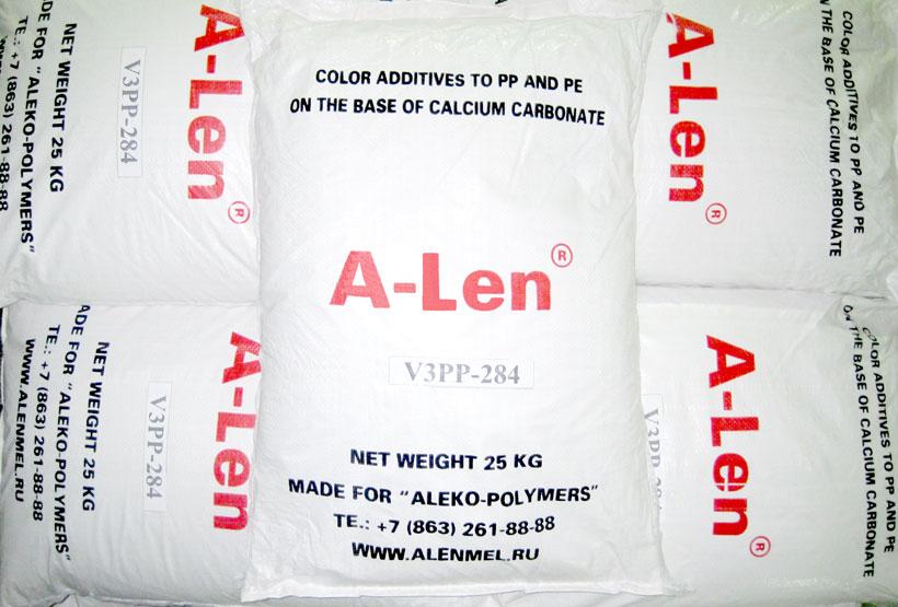 Алеко: Меловые добавки A-Len