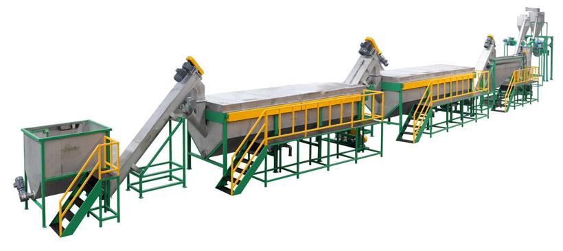 Алеко: Оборудование для измельчения и отмывки полимерных отходов (Китай)