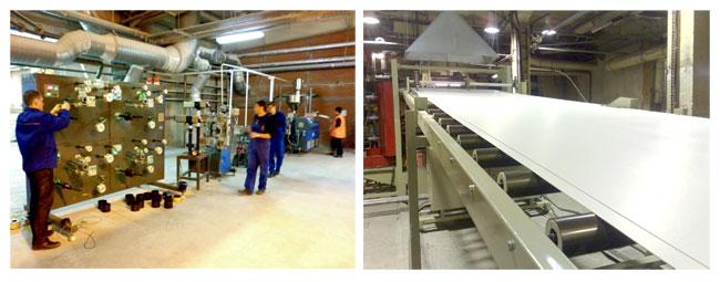 Экструзионные линии для производства ПВХ-шнура и ПВХ-листа