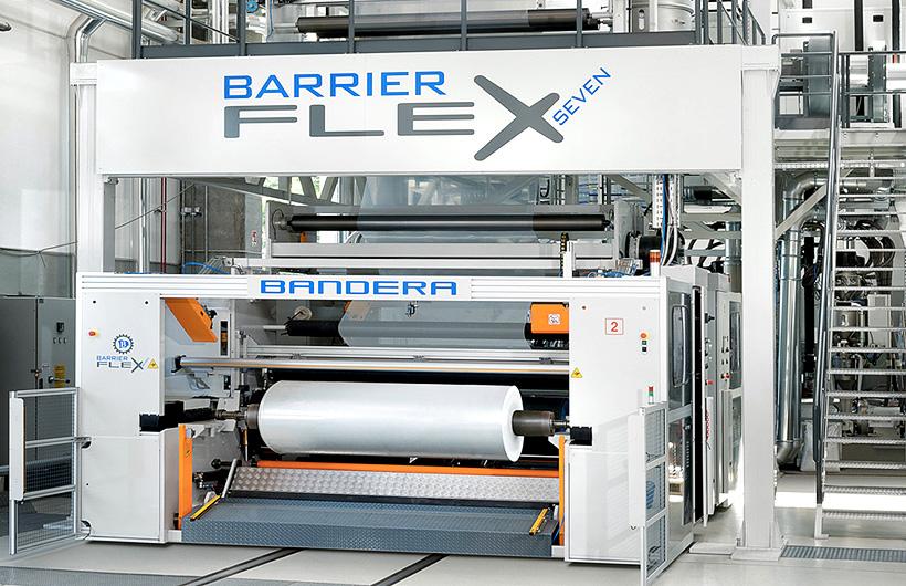 Экструзионные линии Bandera BarrierFlex® для производства многослойных барьерных пленок