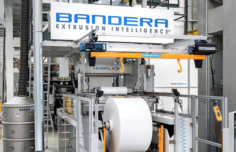 Экструзионные линии Bandera HDBFlex® для производства пленок для сверхпрочной упаковки