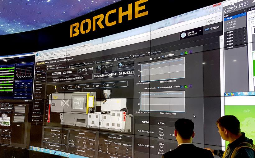 ТПА BORCHE в стандарте комплектуются системой интеллектуальной связи оборудования BORCHE-iPHM