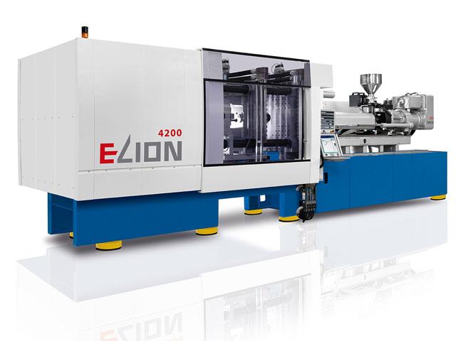 Netstal  ELION 4200 Термопластавтоматы с усилием смыкания от 500 до 8.000 кН для производства тонкостенных и высокоточных изделий из пластмасс для упаковочной, медицинской промышленности и технического назначения, а также для производства ПЭТ-преформ