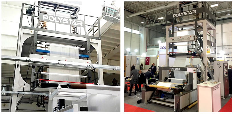 Оборудование Polystar с технологией A-B-A для производства пленки