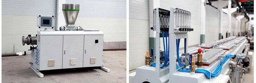 Оборудование для производства труб и шлангов из ПВХ