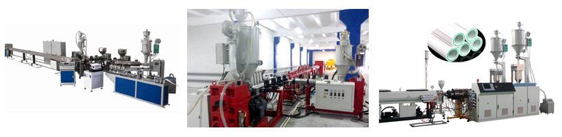 Оборудование для производства трехслойных, пятислойных труб PPR, PEX, PERT, Blue Ocean