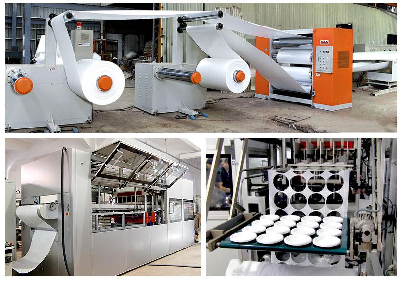 Оборудование для производства изделий методом формовки