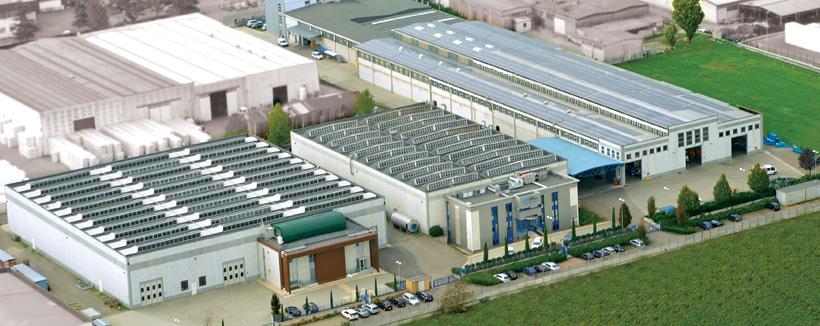 Головной офис и завод Gamma Meccanica S.p.A. в Италии