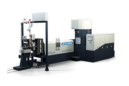 Линия Gamma Meccanica для вторичной переработки ПЭТФ